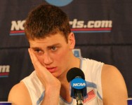 Tyler Hansbrough press conference