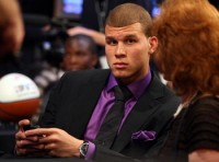 Blake Griffin on draft night