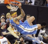 The Denver Nuggets' Chris Anderson