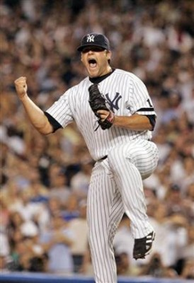 Joba Chamberlain's reaction after a 2nd inning groundout...